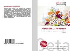 Bookcover of Alexander O. Anderson