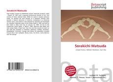 Bookcover of Sorakichi Matsuda
