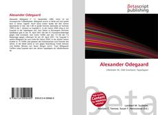 Bookcover of Alexander Odegaard