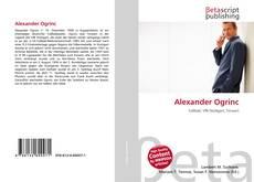Alexander Ogrinc的封面