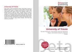 Обложка University of Trieste