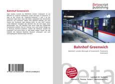 Bookcover of Bahnhof Greenwich