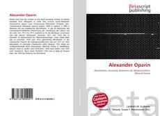 Bookcover of Alexander Oparin