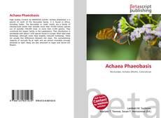 Borítókép a  Achaea Phaeobasis - hoz