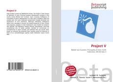 Bookcover of Project V