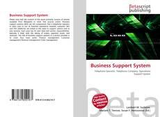 Portada del libro de Business Support System