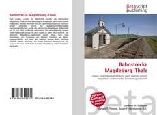 Buchcover von Bahnstrecke Magdeburg–Thale