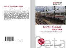 Bahnhof Hamburg-Wandsbek kitap kapağı