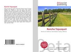 Bookcover of Rancho Tepusquet