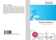 Nanao, Ishikawa kitap kapağı