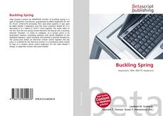 Bookcover of Buckling Spring