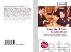 Copertina di University of Turin, Faculty of Law