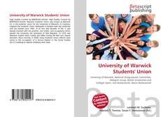 Couverture de University of Warwick Students' Union