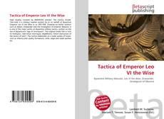 Обложка Tactica of Emperor Leo VI the Wise