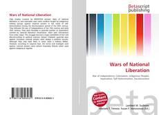 Wars of National Liberation的封面