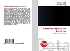 Buchcover von Alexander Petrowitsch Rudakow