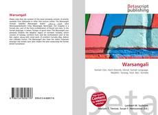 Capa do livro de Warsangali