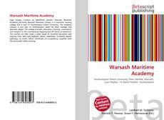 Bookcover of Warsash Maritime Academy