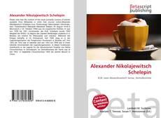 Capa do livro de Alexander Nikolajewitsch Schelepin