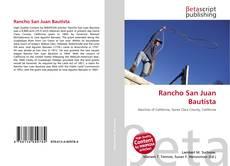 Buchcover von Rancho San Juan Bautista