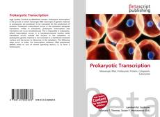 Copertina di Prokaryotic Transcription