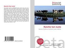 Capa do livro de Rancho San Justo