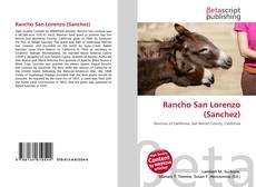 Rancho San Lorenzo (Sanchez) kitap kapağı