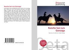 Rancho San Luis Gonzaga kitap kapağı