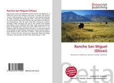 Rancho San Miguel (Olivas) kitap kapağı