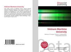 Bookcover of Vietnam Maritime University