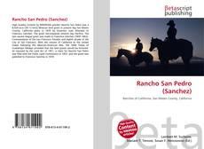 Copertina di Rancho San Pedro (Sanchez)