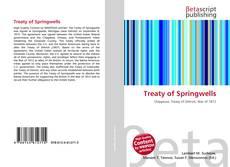 Treaty of Springwells kitap kapağı