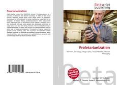 Bookcover of Proletarianization