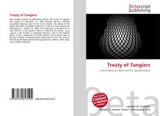 Couverture de Treaty of Tangiers