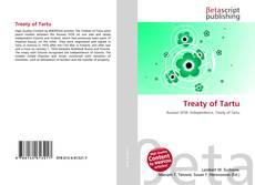 Bookcover of Treaty of Tartu