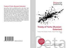 Bookcover of Treaty of Tartu (Russian–Estonian)