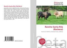 Portada del libro de Rancho Santa Rita (Pacheco)