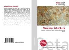 Обложка Alexander Schönberg