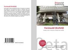 Bookcover of Forstwald (Krefeld)