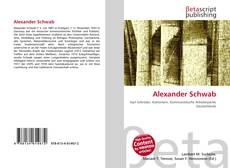 Bookcover of Alexander Schwab