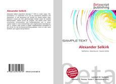 Bookcover of Alexander Selkirk