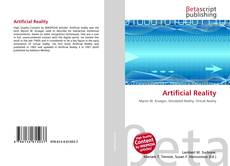 Capa do livro de Artificial Reality