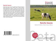 Bookcover of Rancho Saucos