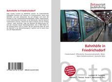 Buchcover von Bahnhöfe in Friedrichsdorf