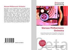 Обложка Warsaw Philharmonic Orchestra