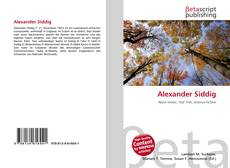 Bookcover of Alexander Siddig