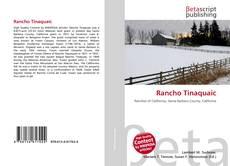 Rancho Tinaquaic kitap kapağı
