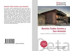 Bookcover of Rancho Todos Santos y San Antonio