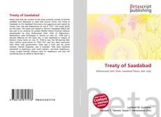 Borítókép a  Treaty of Saadabad - hoz