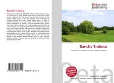 Capa do livro de Rancho Trabuco